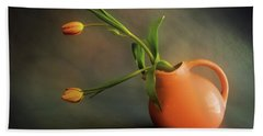 Pitcher Of Blooms Hand Towel