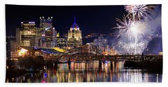 Pittsburgh 1  Bath Towel
