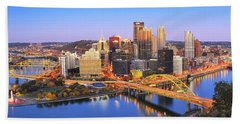 Pittsburgh Pano 22 Hand Towel