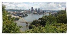 Pittsburgh Series 2  Bath Towel by Joyce Wasser
