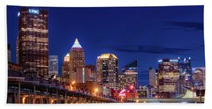 Pittsburgh Strip District 2 Bath Towel