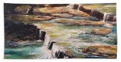 Pixley Falls Park Ny Bath Towel