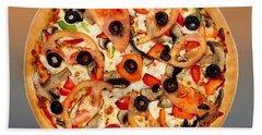 Pizza Pie Customized  Hand Towel