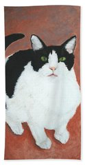 Pj And The Mouse Bath Towel by Marna Edwards Flavell