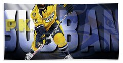 Pk Subban Hand Towel by Don Olea