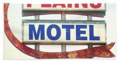 Plains Motel Bath Towel