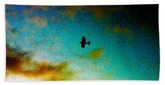 Plane Over Key West Bath Towel