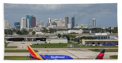 Planes By Fort Lauderdale Hand Towel