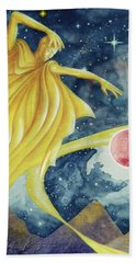 Planet  Dreaming Hand Towel