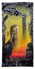 Planet Of Anomalies Hand Towel