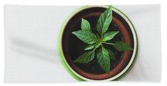 Plant Bath Towel