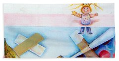 Play Day Hand Towel by Linda Shackelford