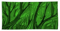 Play Green #h6 Hand Towel