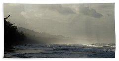 Playa Negra Beach At Sunset In Costa Rica Hand Towel