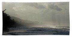 Playa Negra Beach At Sunset In Costa Rica Bath Towel