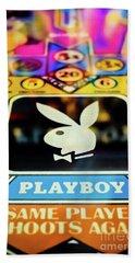 Playboy Pinball Bath Towel