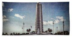 Plaza De La Revolucion Hand Towel