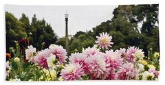 Plethora Of Dahlias Hand Towel