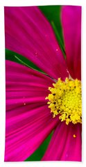 Plink Flower Closeup Bath Towel