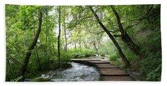 Plitvice Lakes National Park Bath Sheet