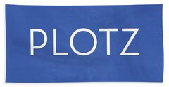 Plotz- Art By Linda Woods Bath Towel