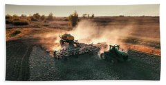 Plow The Fields And Scatter  Bath Towel