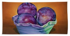 Plum Assignment Hand Towel