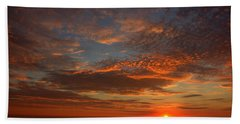 Plum Island Sunrise Bath Towel