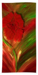 Plume Of Remembrance Hand Towel