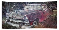 Bath Towel featuring the photograph Plymouth Belvedere by Debra and Dave Vanderlaan