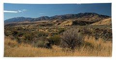 Pocatello Area Of South Idaho Hand Towel