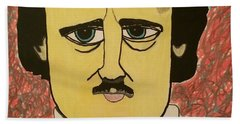 Edgar Allan Poe  Hand Towel
