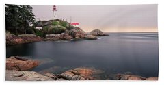 Point Atkinson Lighthouse Bath Towel