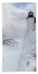 Point Betsie Light Bath Towel