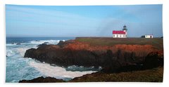 Point Cabrillo Light Station Bath Towel