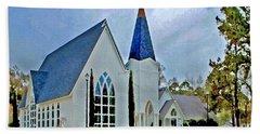 Point Clear Alabama St. Francis Church Bath Towel
