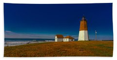 Point Judith Lighthouse Bath Towel