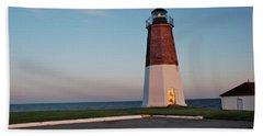 Point Judith Lighthouse Rhode Island Hand Towel