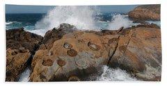 Point Lobos' Concretions Bath Towel