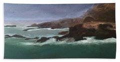 Point Lobos Monterey Bath Towel