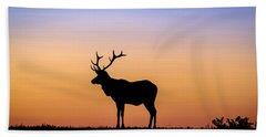 Point Reyes Elk Bath Towel