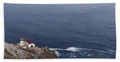Point Reyes Lighthouse Bath Towel