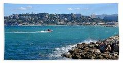 La Pointe Rouge Marseille Bath Towel