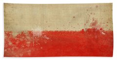 Poland Flag  Hand Towel