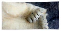 Polar Bear Paws Hand Towel
