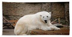 Polar Bear Smile Hand Towel