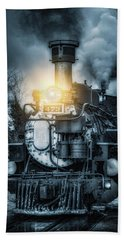 Hand Towel featuring the photograph Polar Express by Darren White