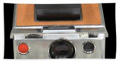 Polaroid Sx-70 Land Camera Bath Towel