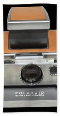 Polaroid Sx-70 Land Camera Bath Towel