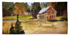 Polebridge Mt Cabin Bath Towel